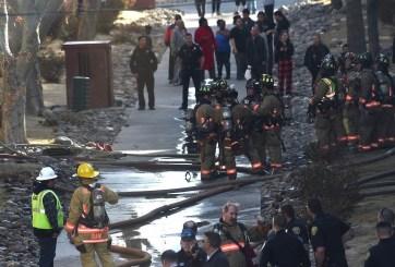 Incendio deja a varias familias sin hogar en un complejo de apartamentos