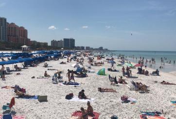 Anuncian cierre de playas en el Condado Cameron