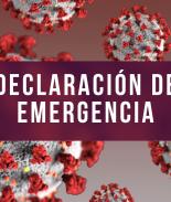 Declaración de emergencia coronavirus
