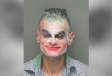 Arrestan a hombre con maquillaje de Joker por hacer amenaza terrorista