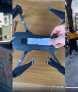 Amor en tiempos de cuarentena: se conocieron a través de un dron