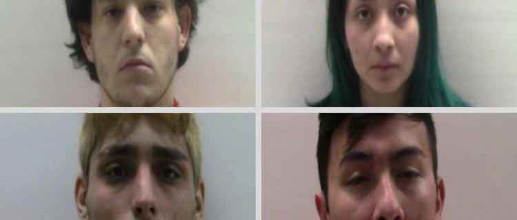 4 jóvenes de Brownsville enfrentan cargos de asalto agravado