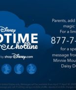 Mickey Mouse le da las buenas noches a los niños
