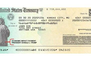 Ola de estafadores tras los cheques de estímulo del IRS