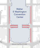 Convention Center en D.C. atenderá casos de Covid-19