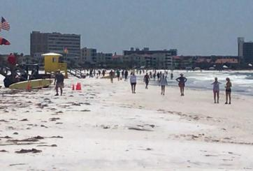 VIDEO: Así estaban las playas de Clearwater antes de «Memorial Day»