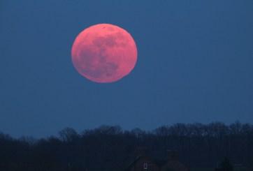 La 'luna rosa' de abril es la superluna más grande y brillante de 2020