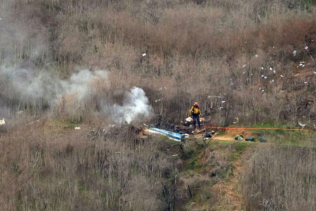accidente helicóptero kobe bryant
