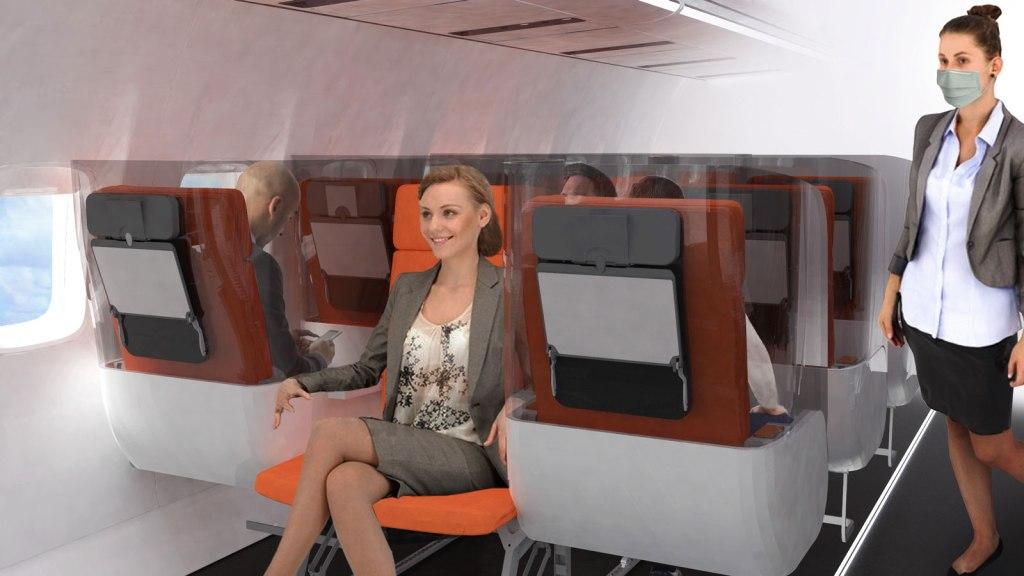 nuevos asientos de avión