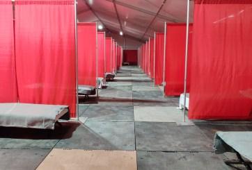 FOTOS: Abre el primer centro en el país para indigentes con coronavirus