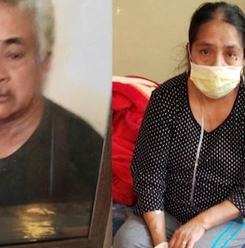 Madre mexicana gana la batalla al coronavirus pero pierde a su esposo