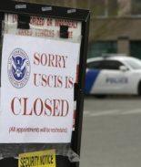 Oficinas de USCIS seguirán cerradas hasta junio