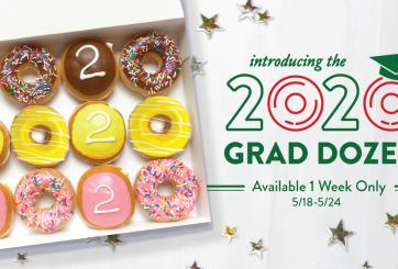 Krispy Kreme celebra a los graduados con donas gratis el 19 de mayo