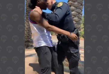 VIDEO: Controversial arresto de afroamericano causa indignación en SD