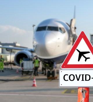 Estudio descubre que el Coronavirus se esparce en vuelos de aerolíneas