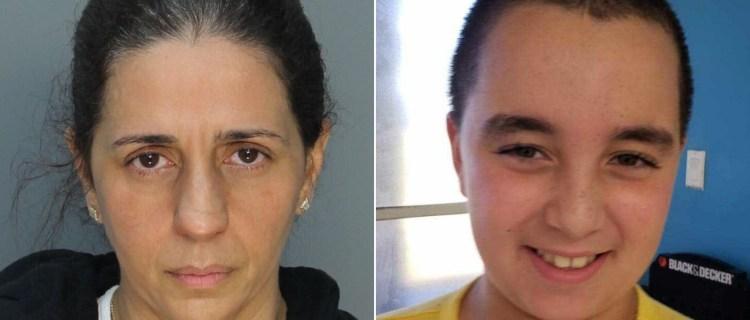 VIDEO: Revelan aterrador momento en que madre asesinó a su hijo en Miami