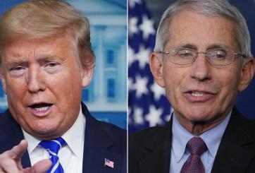 Dr. Fauci contradice el tuit de Trump sobre las muertes por Covid-19