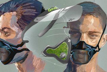 Diseños de máscaras Reebok parecen sacados de una película futurista