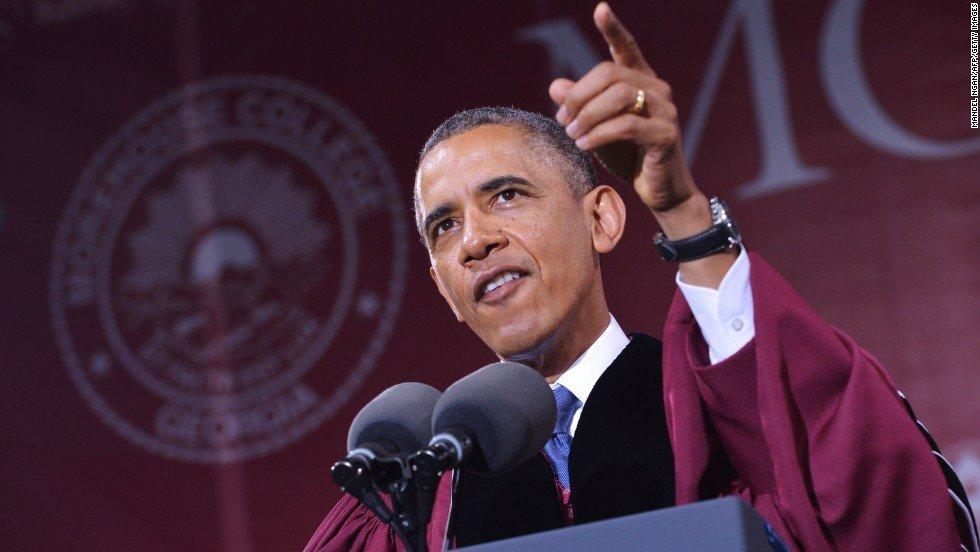 obama discurso graduación