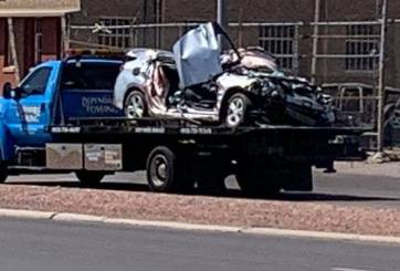 USBP: Accidente en el Centro de El Paso se derivó de tráfico humano