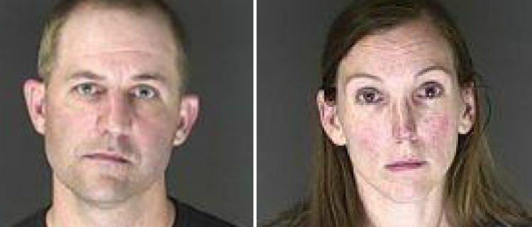 Arrestan a pareja que forzó a su hijo a beber demasiada agua y murió