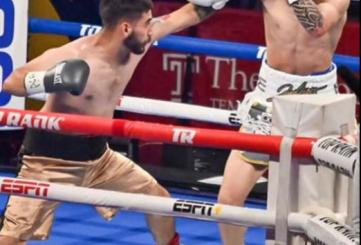 Boxeador local sube al cuadrilátero esta noche en Las Vegas