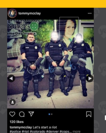 Policía de Denver es despedido tras publicación polémica en Instagram