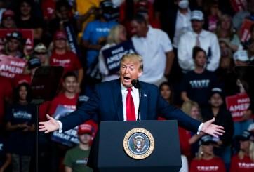 Agentes de Servicio Secreto y equipo de campaña de Trump en cuarentena
