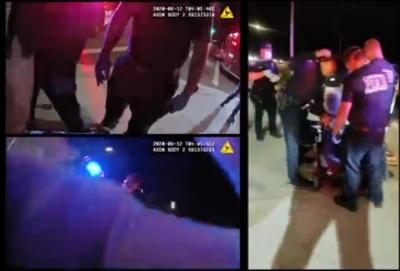 VIDEO: Policía revela video de arresto para recuperar confianza pública