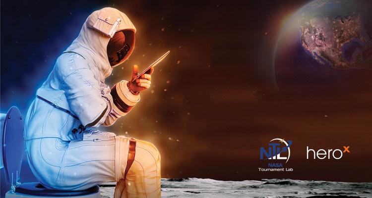 NASA ofrece $35,000 por diseño de inodoro que funcione en la luna