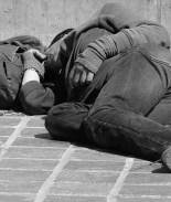 indigente, sin hogar