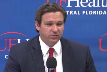 DeSantis se encuentra optimista sobre el COVID-19 en Florida