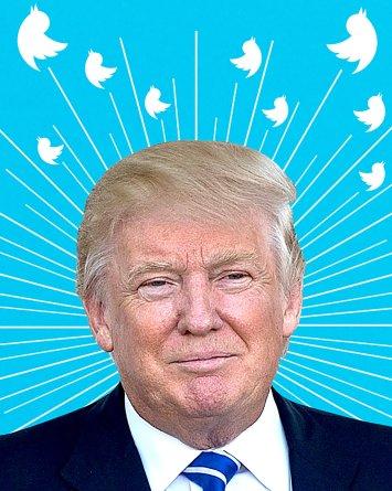 Campaña busca derrotar a Trump por medio de sus propios tuits