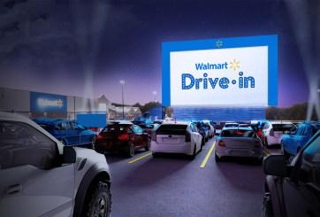 Walmart convertirá 160 de sus estacionamientos en autocinemas
