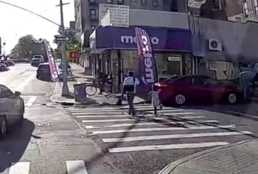 VIDEO: Murió atacado a tiros cuando caminaba de la mano de su hija de 6