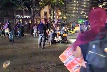 Hombre fue asesinado a disparos durante una protesta en Texas