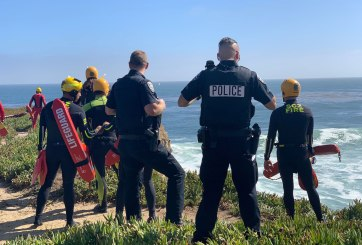 Hombre se arrojó de un acantilado al mar durante persecución en auto