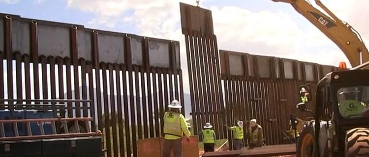 Muro fronterizo privado en sur de Texas podría derrumbarse