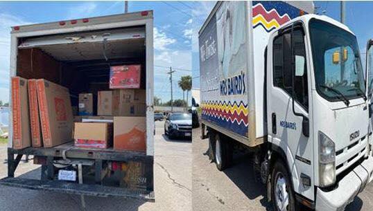 Detienen intento de contrabando humano en camión de pan y arrestan a 50