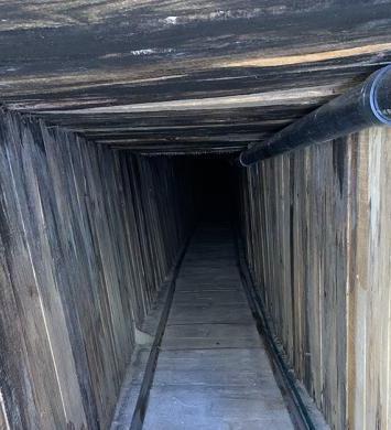 """Descubren el túnel transfronterizo """"más sofisticado"""" de la historia"""