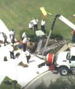Un muerto y tres bomberos heridos al colapsar acera en condado Seminole