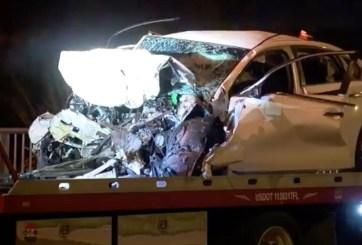 Madre y su bebé de 10 meses gravemente heridos tras accidente de auto