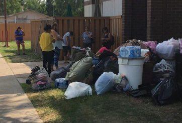 Varias familias quedaron en la calle tras incendio