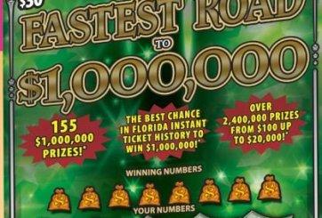 Hombre de Plant City gana $1,000,000 en raspadito de la Lotería