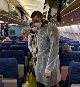 Estas son las probabilidades de contagiarse de COVID en un avión