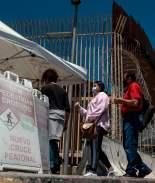Inician pruebas de Covid en cruce de frontera con México