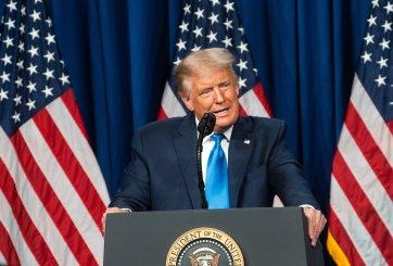 Planean demandar a Trump por uso no autorizado de la canción 'Aleluya'