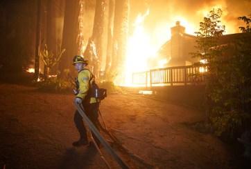 bomberos california