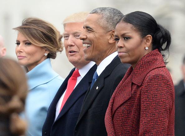 los obama y los trump