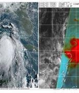 Laura se convierte en huracán y va camino hacia el Golfo de México